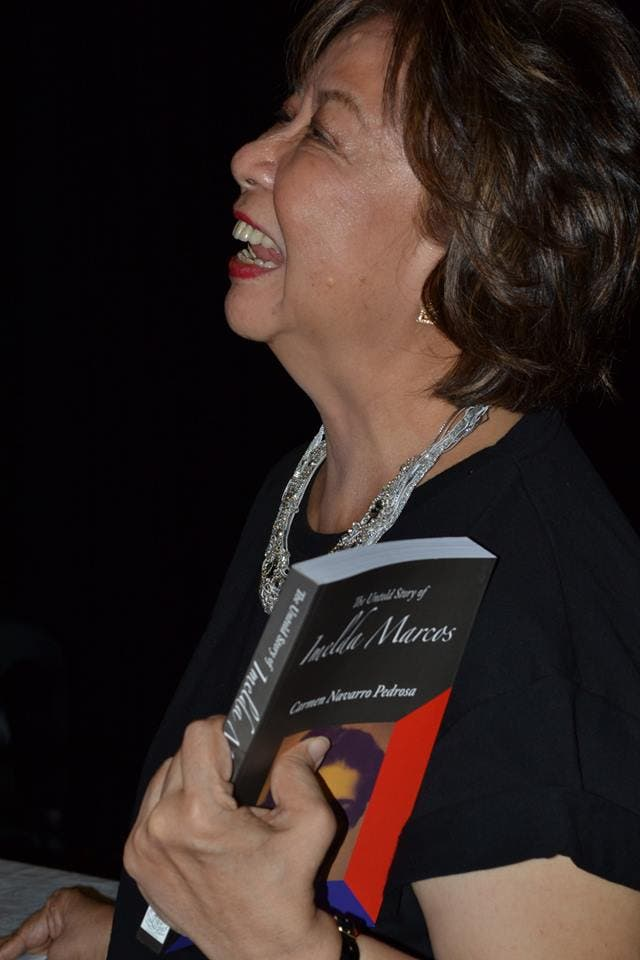 Carmen Navarro Pedrosa, author of The Untold Story of Imelda Marcos
