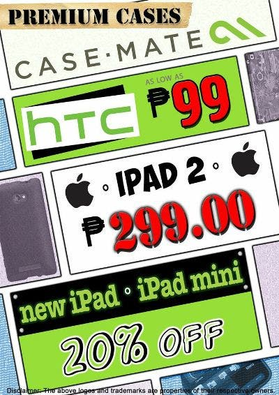 Casemate Official Flyer iPad2