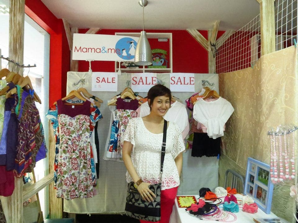 Nina Santos of Mama & Me MM Clearance Clear Out Sale 2012