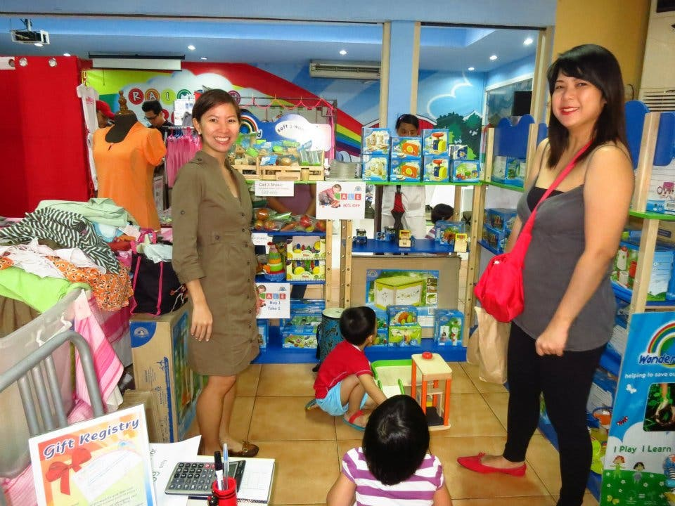 Wonderworld Toys showcased fun and safe wooden toys owns by Sherry Sy