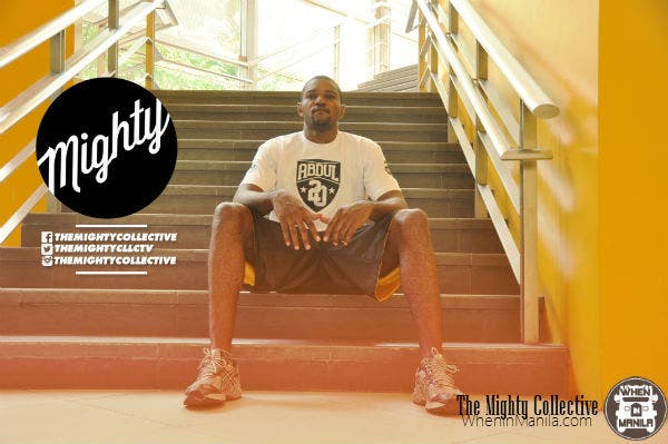 Karim Abdul wears the Mighty Collective