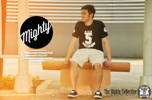 Kim Kaizen Lo wears The Mighty Collective