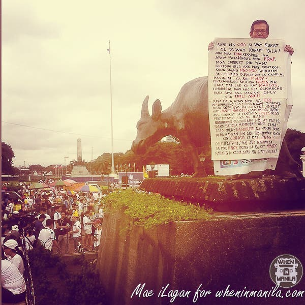 Million People March Pork Barrel Napoles Mae Ilagan When in Manila (25 of 45)