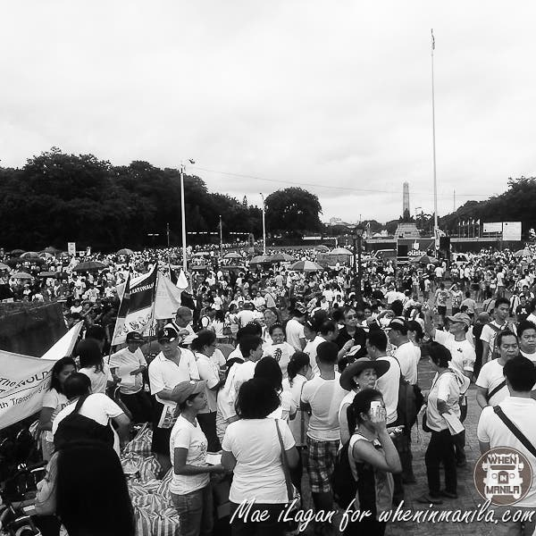 Million People March Pork Barrel Napoles Mae Ilagan When in Manila (28 of 45)