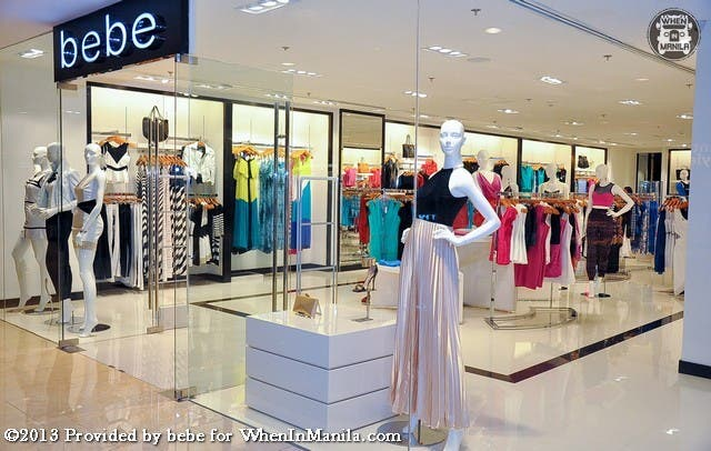 bebe Philippines store front