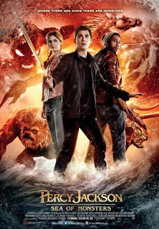 Hits And Misses Percy Jackson Sea Of Monsters Movie
