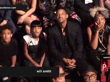 smith family reaction to miley cyrus vma performance