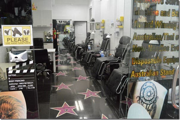 Best Tattoo Shop in Thailand Celebrity Ink Safe Clean Award Winning Tattoos 1