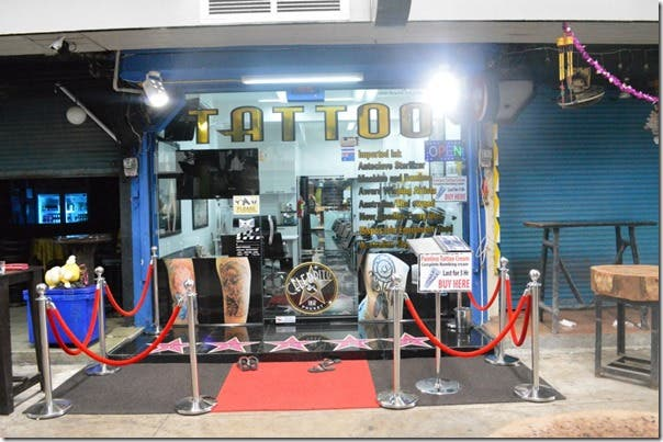 Best Tattoo Shop in Thailand Celebrity Ink Safe Clean Award Winning Tattoos 2
