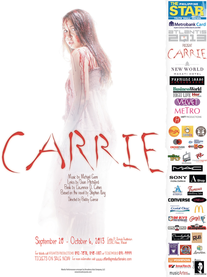 Atlantis Productions Presents: Carrie in Manila