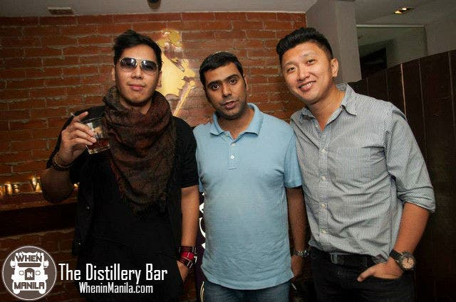 Jave Maceda, and Party Masters Raj Sadhwani and Stephen Ku attended the Food Launch