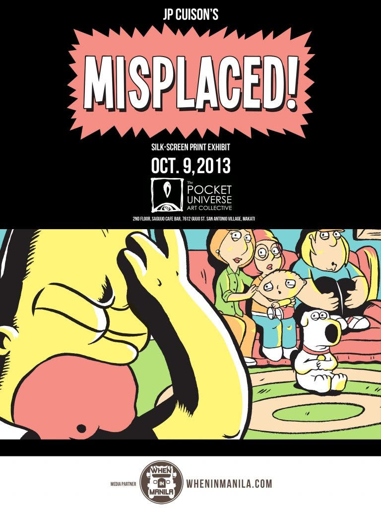 MISPLACED! An Exhibit by JP Cuison