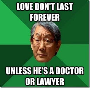 Signs you have Overprotective Chinese Parents told mostly by the High Expectations Asian Father meme (3)