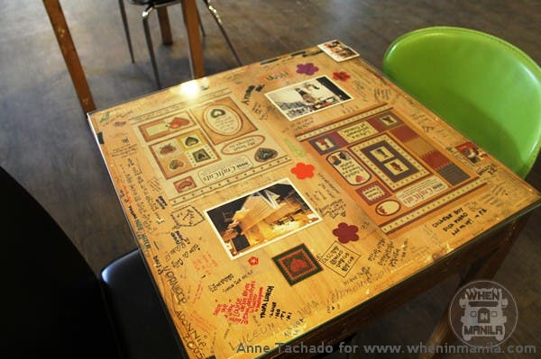 Cafe Noriter Table