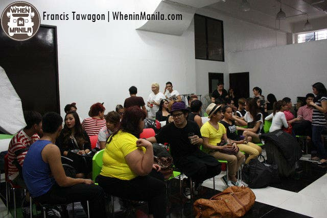 The contestants of Mega's Fashion Crew 3: Reloaded: photographers, stylists, hairstylists, etc.