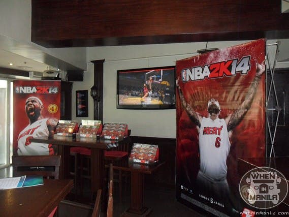 NBA 2K14 Launch at Bugsy's