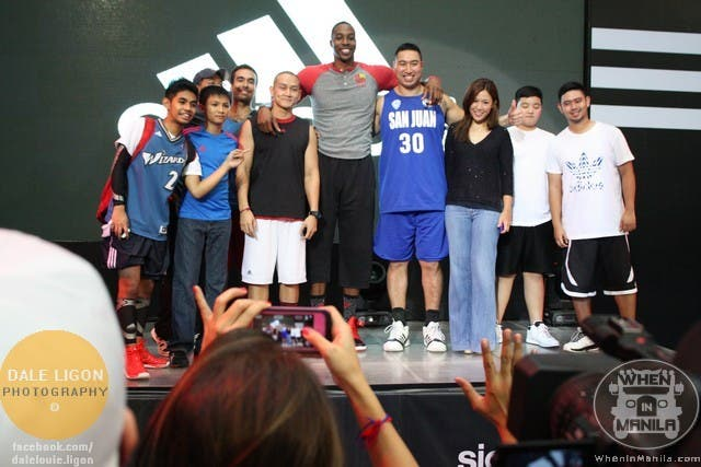 Dwight Howard in Manila