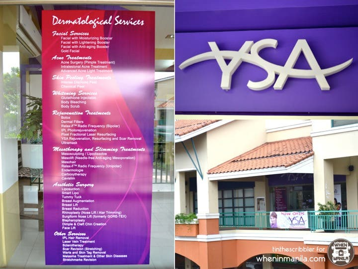 YSA Skin and Body Experts Now Open in Sucat 11