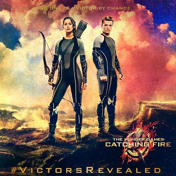 Hunger Games - Catching Fire Poster