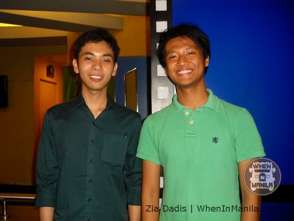 Mr. Jonathan Grande (on the left) and Mr. Jules Dayrit (on the right)