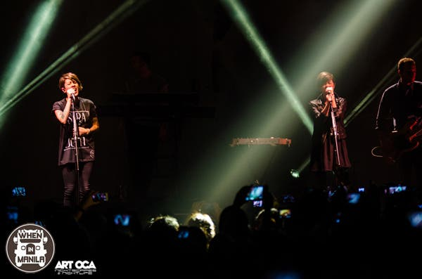 Tegan and Sara live in Manila