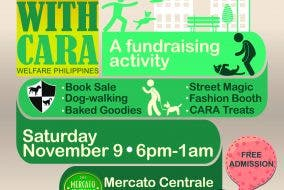 CARA Welfare Philippines - Fund-raising activity for animal welfare
