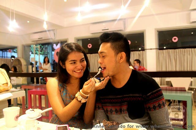 Couples enjoy some sweet time too at Larcy's Cupcakerycafe
