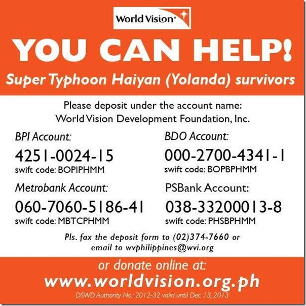 Verified Legit Ways to Help Super Typhoon Haiyan Yolanda Victims (13)