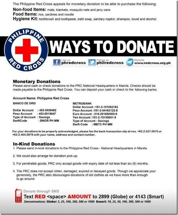 Verified Legit Ways to Help Super Typhoon Haiyan Yolanda Victims (2)