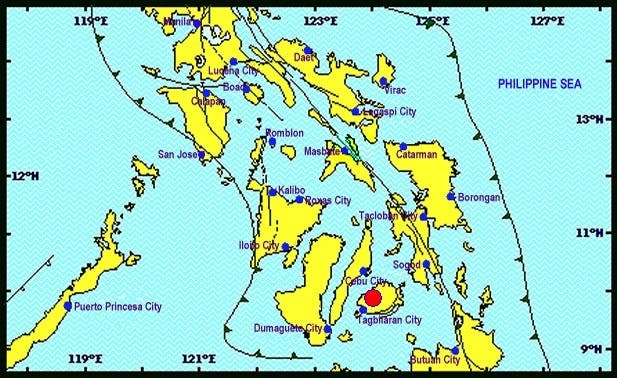Aftershock was recorded on Nov 12, 2013 - 01:21:22 PM/PHIVOLCS