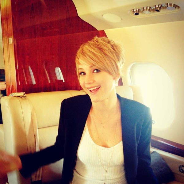 Jennifer Lawrence Cut Her Hair