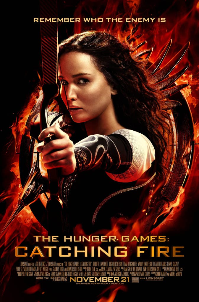 The Hunger Games: Catching Fire_Movie Poster OFFICIAL