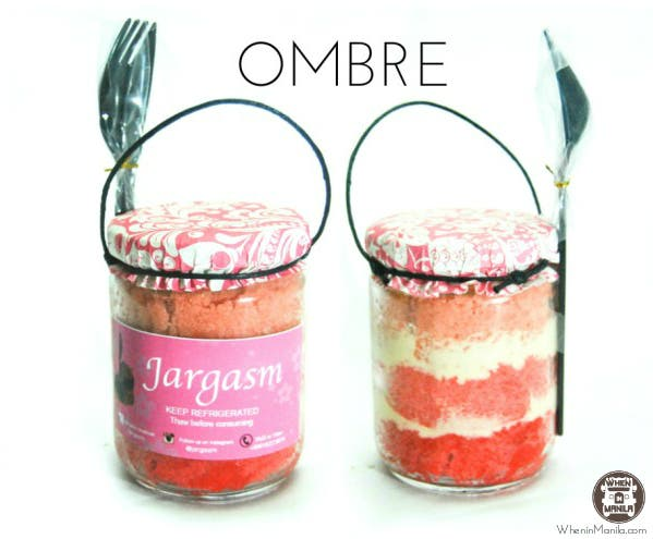Cakes in a Jar by Jargasm Eating Sweets Made More Fun WhenInManila