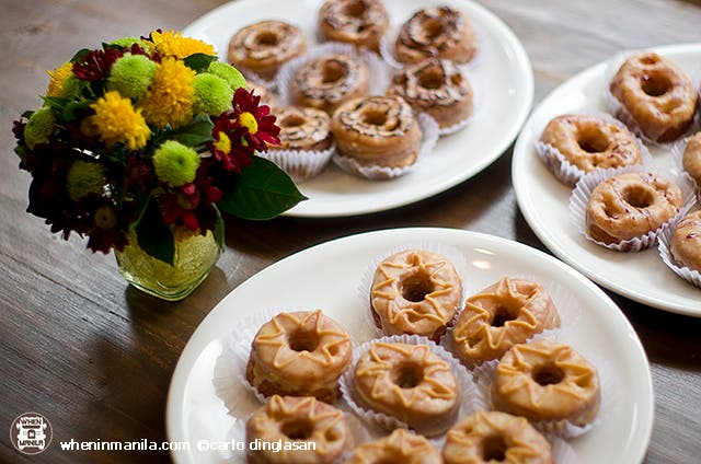 Not on the menu: Cronuts!