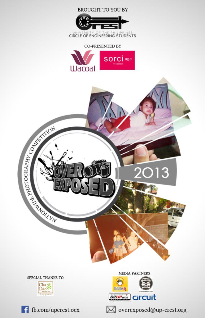 UP CREST Overexposed 2013 poster