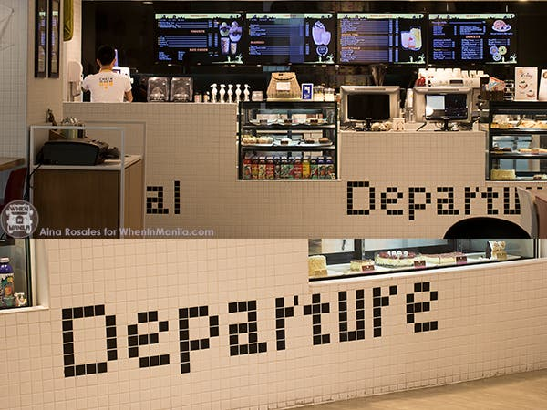 cafe de seoul airport counter