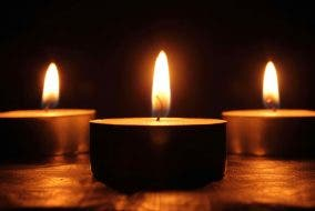 energy saving tips - candles