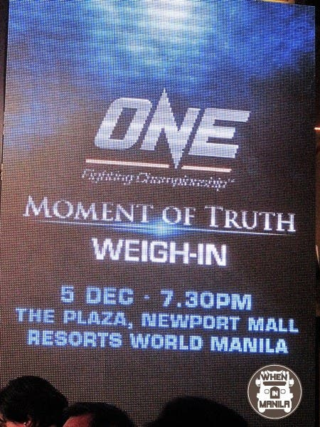 ONE FC Moment of Truth