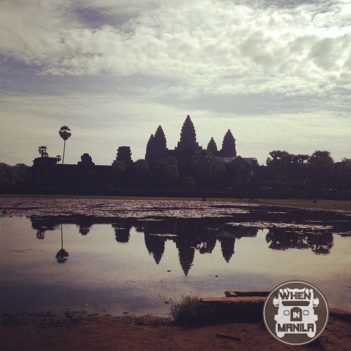 The five towers of Angkor Wat