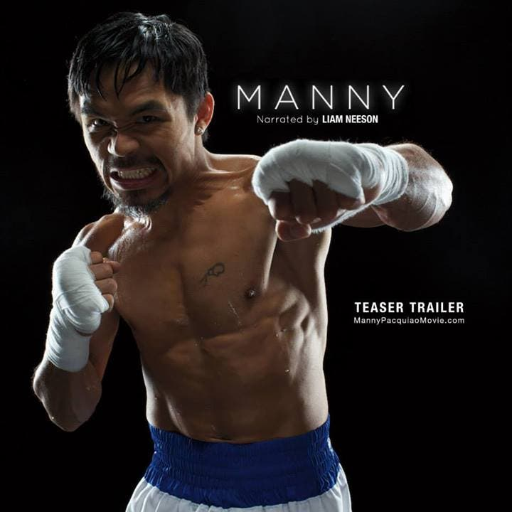 Manny Pacquiao Movie Narrated by Liam Neeson