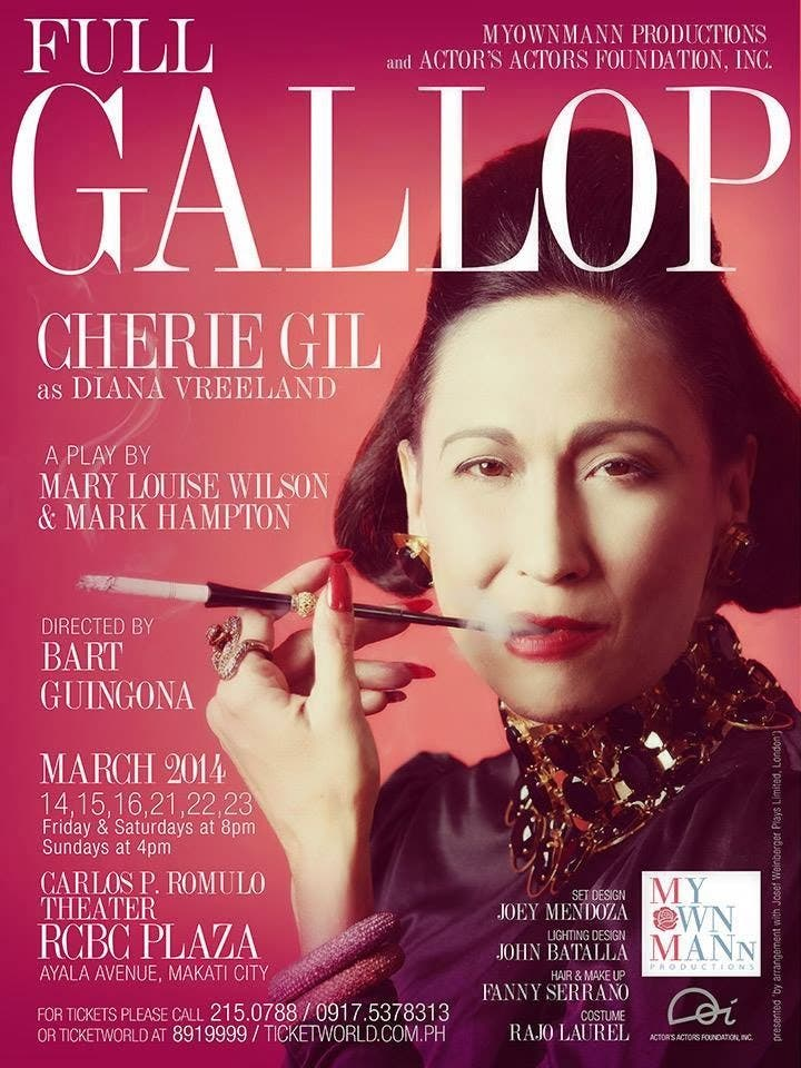 Cherie Gil To Portray Diana Vreeland, Fashion's Doyenne In Full Gallop (6)