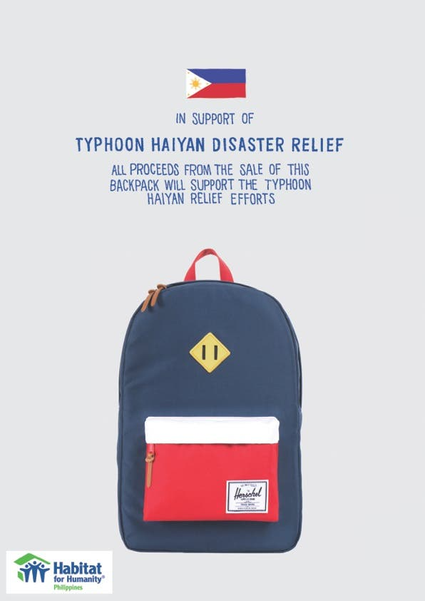 Herschel for Typhoon Yolanda
