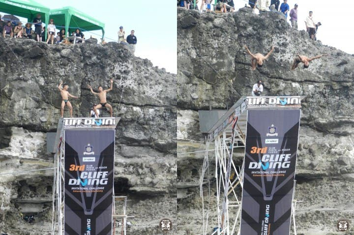 Cliff Diving a