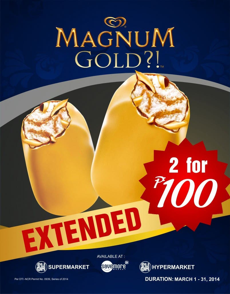 MAGNUM EXTENDED PROMO