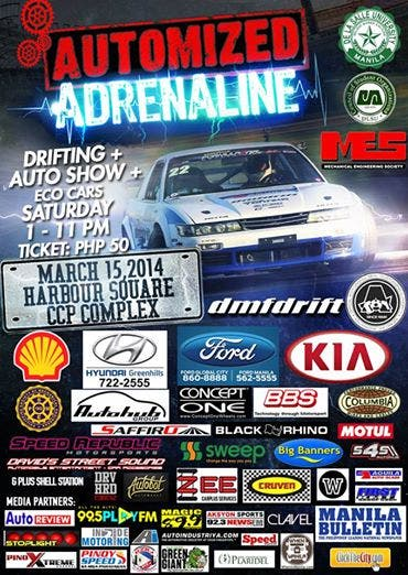 Car Show When In Manila - Car show banners