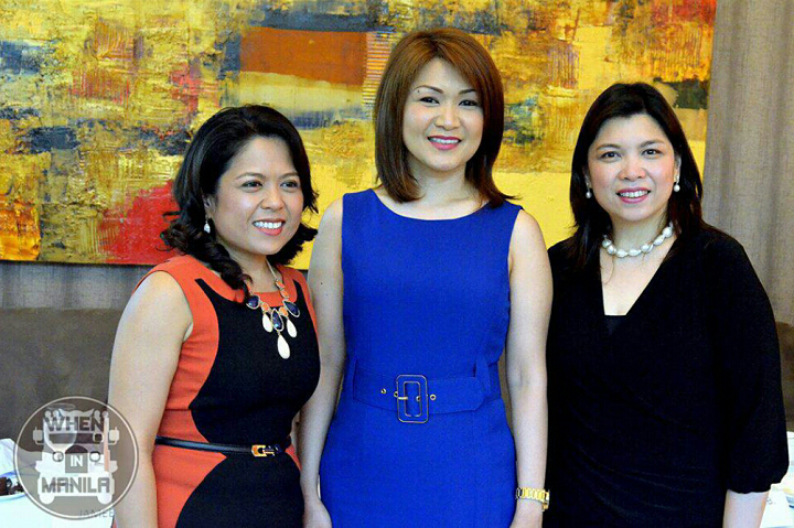 The graduates of Cohen and now the pioneers of Cohen in the Philippines. (L-R Regina, Barbara and Angela).