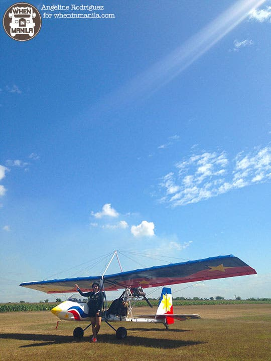 Plane Flying at Angeles City Flying Club