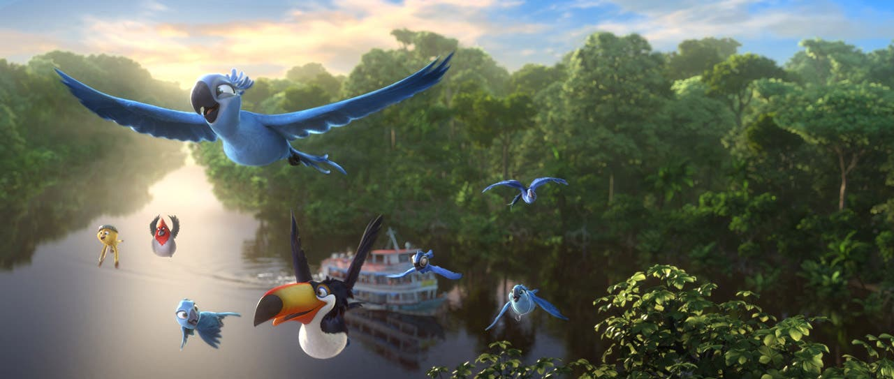 from the city to the jungle in RIO 2