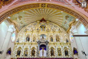 when in manila Pampanga Cultural and Heritage Tour Visiting the Best Destinations Betis Church altar