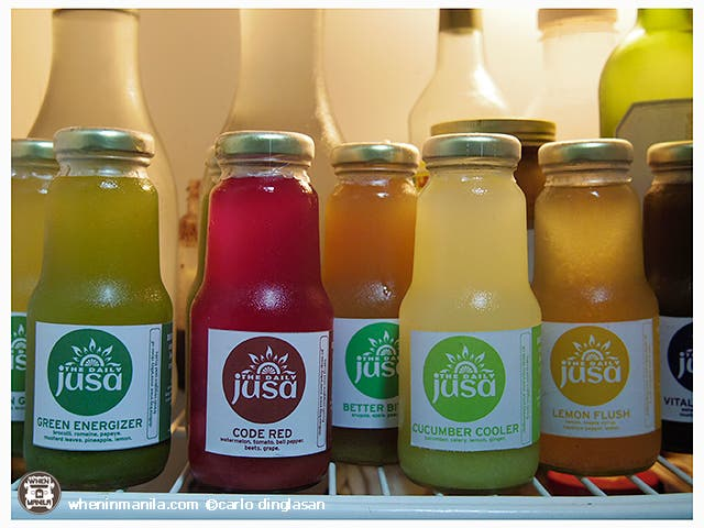 Daily Jusa Detox Juice Juicing